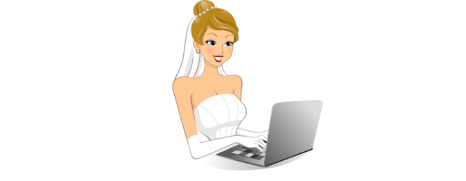 Online Shopping vs. Full Service Bridal Shopping